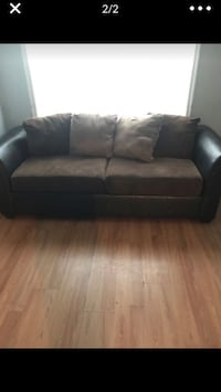 Used Red Couch Set With 2 Chairs And Table For Sale In