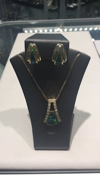 Lady Earings Chain & Pendent  Upland, 91786
