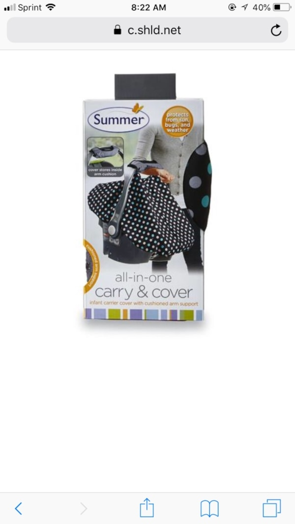 Summer Infant Car Seat Cover