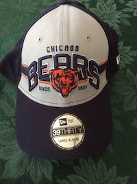 white and black Chicago Bulls fitted cap Port Saint Lucie, 34953