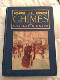 """Published in 1908 """"The Chimes"""" by Charles Dickens Milford"""