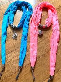 Scarfs with exchangeable charms 2 for $10 (great Christmas gifts) Virginia Beach, 23452