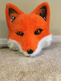 Halloween costume fox head mask Bristow, 20136