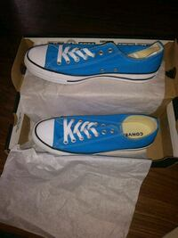 blue and white Vans low-top sneakers College Park, 20740