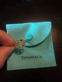 silver Tiffany & Co. ring Atlas collection