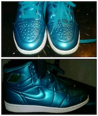 Teal Jordans Size 6y Virginia Beach, 23456