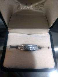 Platinum and Diamond Ring Clinton