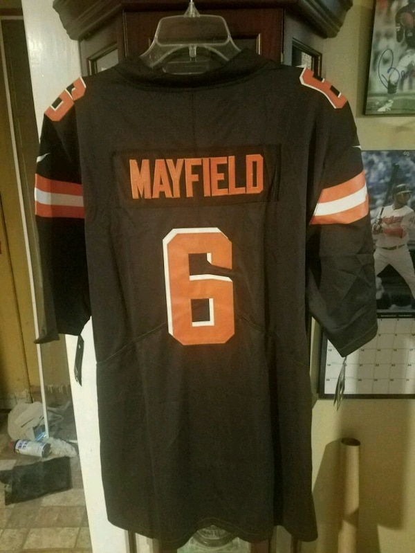 huge selection of 704a9 f245b Cleveland browns Baker Mayfield Jersey XXL
