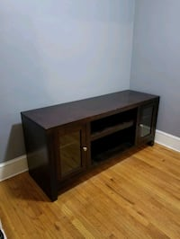 Wooden Media Console  Yonkers