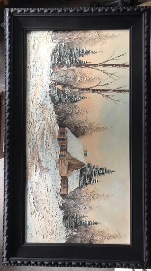 Painting From Grandpa's cabin