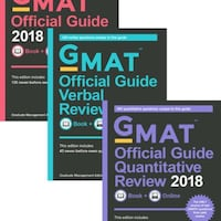 Official GMAT Guides - Never Used Washington, 20008