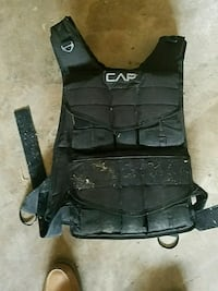 Weighted vest 80lb