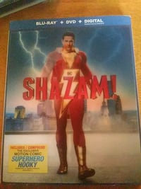 Shazam blu ray dvd London, N6J 3H4