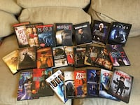 assorted DVD movie cases collection South Gate, 90280
