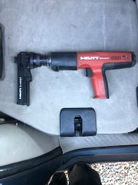 Hilti DX351 with accessories and ammo. 2338 mi