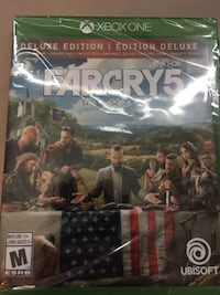 Far Cry 5 deluxe edition xbox one Calgary, T2Y 3C7