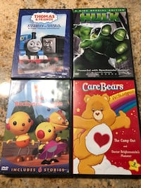 four assorted color DVD cases Vancouver, 98682
