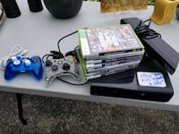 Xbox 360 with controller and games  Wellesley, N0B 2T0