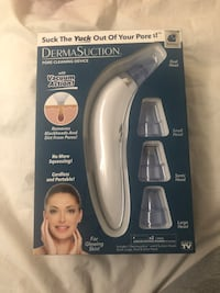 Dermasuction Pore Cleaning Device