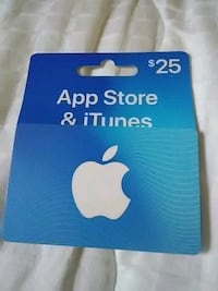 IPhone gift card