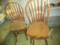 Four real wood chairs Phenix City, 36870