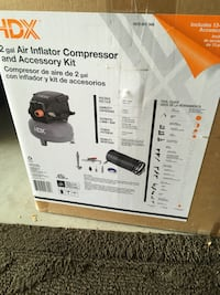 2 gallon air compressor inflator. Reasonable offers excepted  Chicago, 60634