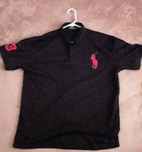 black Ralph Lauren polo shirt 22 km
