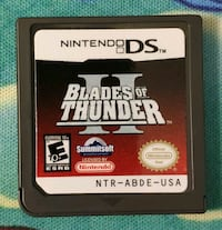 Blades of Thunder II (Nintendo DS, 2006) NDS Game Rockville, 20850