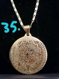 gold-colored pendant necklace Glendale