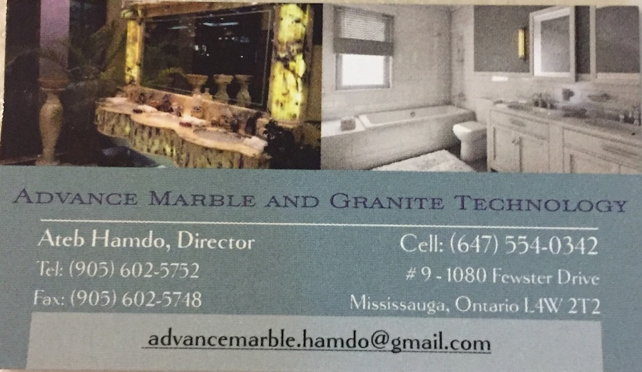 Advance Marble and Granite Technology contact number