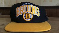 yellow and black Boston Bruins embroidered fitted cap Lynn, 01902