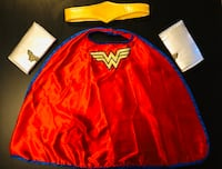 Wonder Woman Costume accessories Size 3/4 Burnaby, V3N 5E4