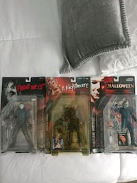 3 movie maniacs horror figure Miller Place, 11764