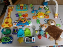 LOTof Baby toys! Fisher price tiny love