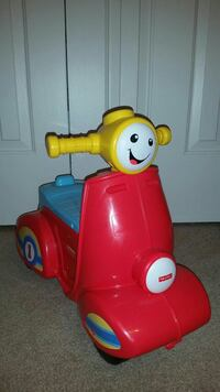 red and yellow Fisher-price ride-on toy Woodbridge, 22192