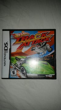 NINTENDO DS HOT WHEELS ATTACK COMPLETE