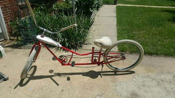Stretch limo low rider beach cruiser bicycle