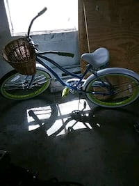 blue and green cruiser bicycle Myersville, 21773