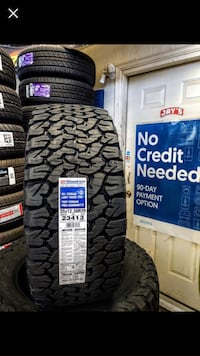 New tires with payment Columbus