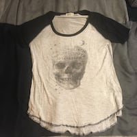 Skull ouija shirt fits small/medium Kelowna, V1Y 5Y3