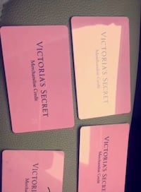 Victoria Secret gift cards $2$124 $155 $236 $285 best offer total on it is $800 Toronto, M3N 2P8