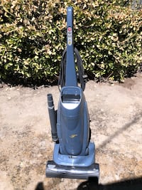 Filtered Vacuum. Works great for dog hair.  Bakersfield, 93304