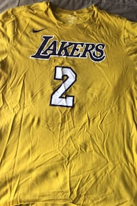 Lonzo Ball Lakers shirt. XL Windsor Mill, 21244