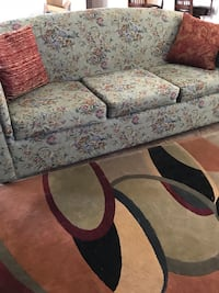 Green sofa, loveseat, and rug Tucson, 85757