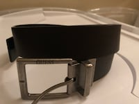 Double sided Gues belt black and brown 32/34 1701 mi