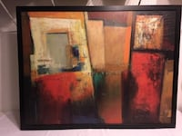 Estate Sale:  Assorted Framed Artwork, Metal Décor, Wall Art Décor  Lansdowne