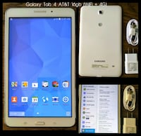 Galaxy Tab 4 AT&T WiFi + 4G Tablet (8 inch screen) Arlington
