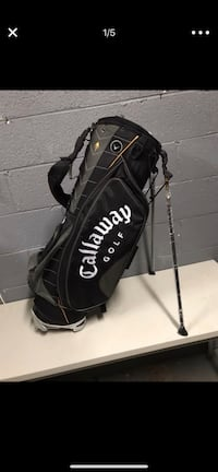 Callaway golf bag used twice excellent condition like new Dumfries, 22026