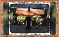 Michigan double wine glass/bottle holder! Comes with wine glasses and gift wrapped! Great gift!!! Keego Harbor, 48320