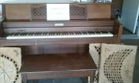brown wooden spinet piano Riverside, 92506